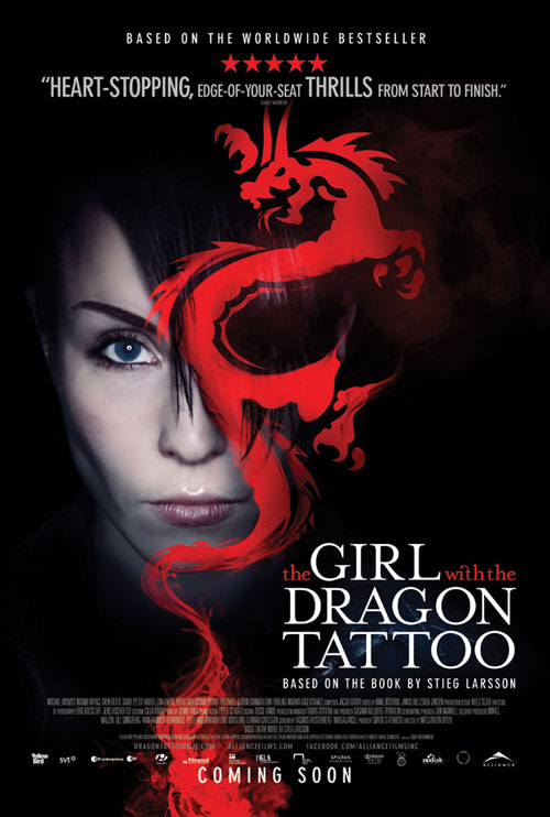 The Girl with the Dragon Tattoo Movie Poster (Swedish Version)