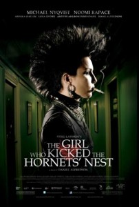 Movie Poster for The Girl Who Kicked the Hornet's Nest