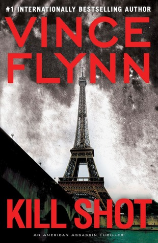 Kill Shot book cover by Vince Flynn