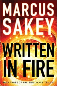 Written in Fire by Markus Sakey
