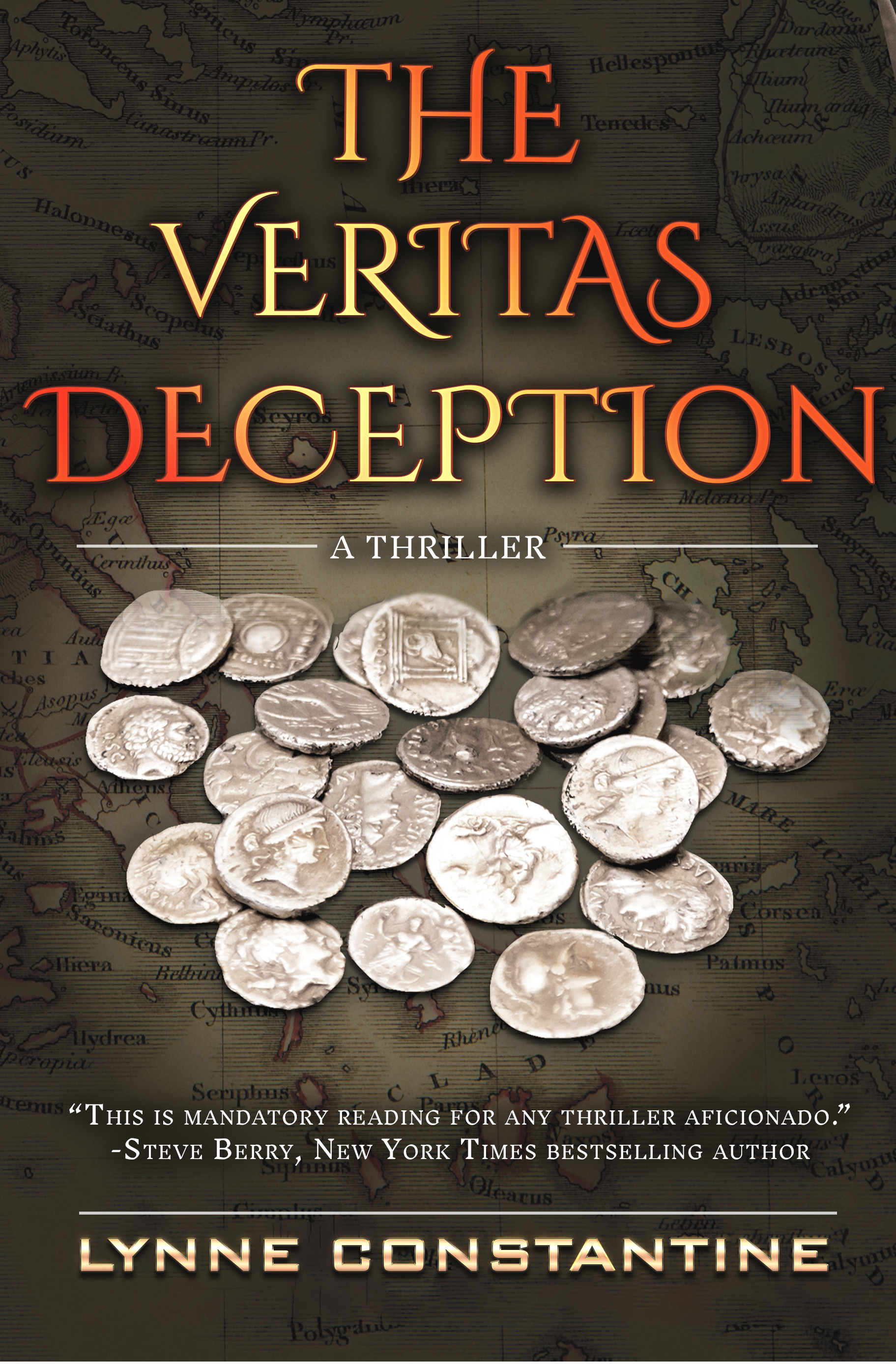 The Veritas Deception, A Conspiracy Thriller By Lynne Constantine